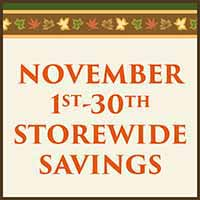Get storewide savings on Flooring during our Fall Home Makeover Sale at Murley's Floor Covering in Kennewick, WA