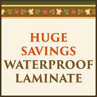 Huge Savings on Waterproof Laminate Flooring during our Fall Home Makeover Sale at Murley's Floor Covering in Kennewick, WA