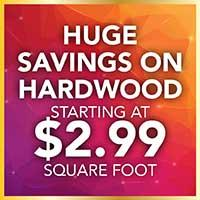 Save on Hardwood Flooring and Pay no Sales Tax during our National Gold Tag Flooring Sale at Murley's Floor Covering in Kennewick, WA
