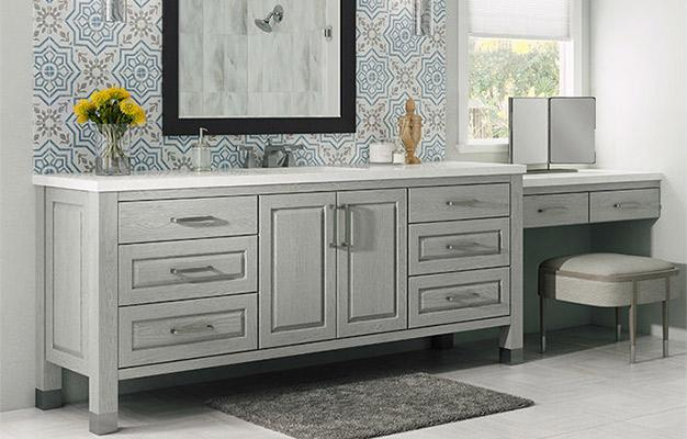 Bellmont bathroom cabinetry