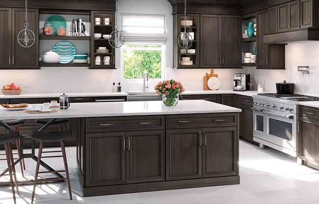 Waypoint kitchen cabinetry