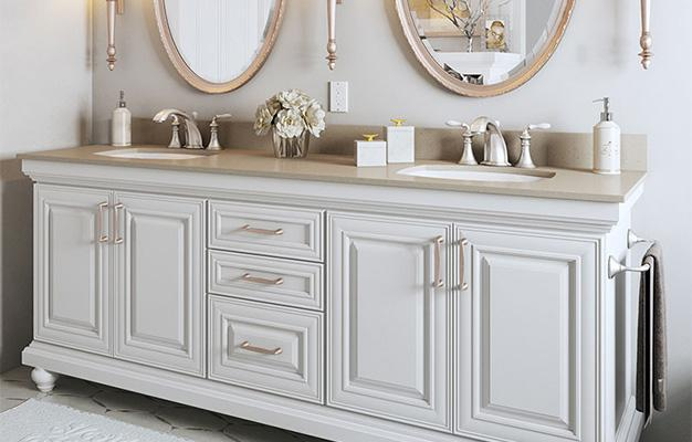 Waypoint bathroom cabinetry