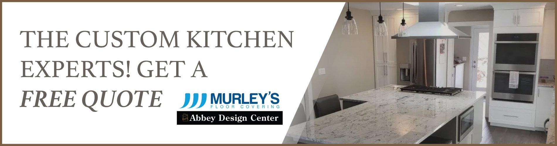 Custom Kitchens at Murley's Floor Covering in Kennewick