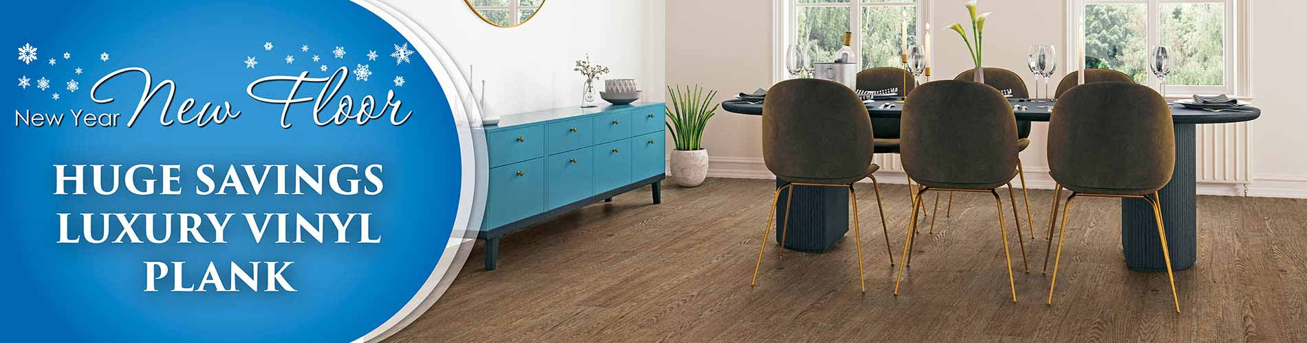 Save on Luxury Vinyl Plank during our New Year New Floor sale at Murley's Floor Covering in Kennewick