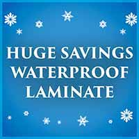 Save on waterproof laminate during our New Year New Floor sale at Murley's Floor Covering in Kennewick